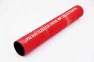 Red Rubber Air Hose