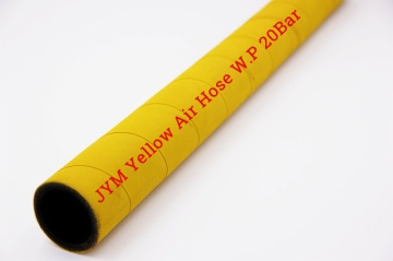 Textile Reinforced Air Hose 300PSI Yellow